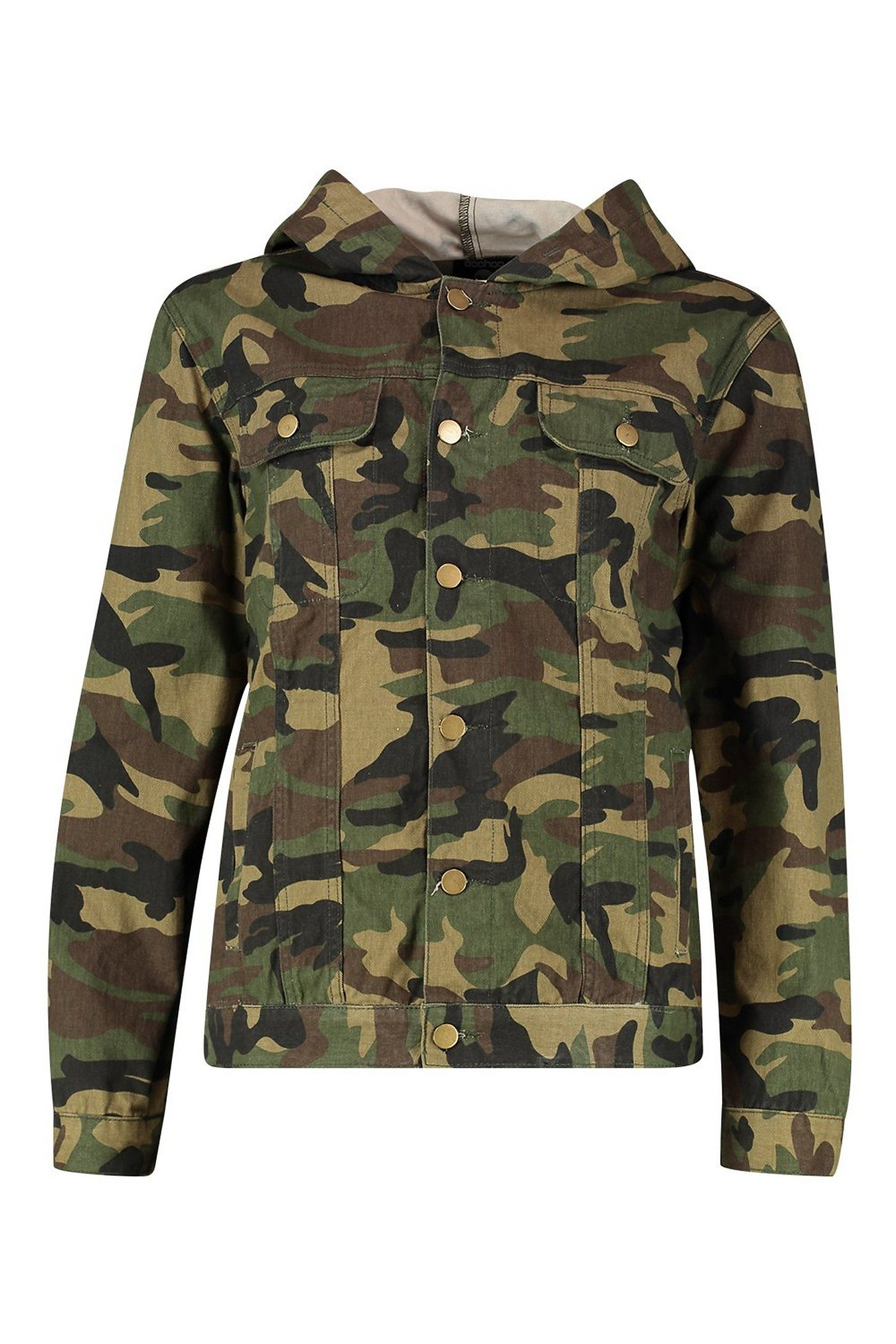 Hooded Oversized Camo Denim Jacket Boohoo Jean Jacket Outfits Camo Denim Jacket Jackets [ 2181 x 1454 Pixel ]