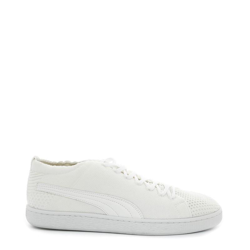 reputable site 8979d c77bb Puma Basket Evoknit 363650-02 Men White Sneakers Size - UK 7 ...