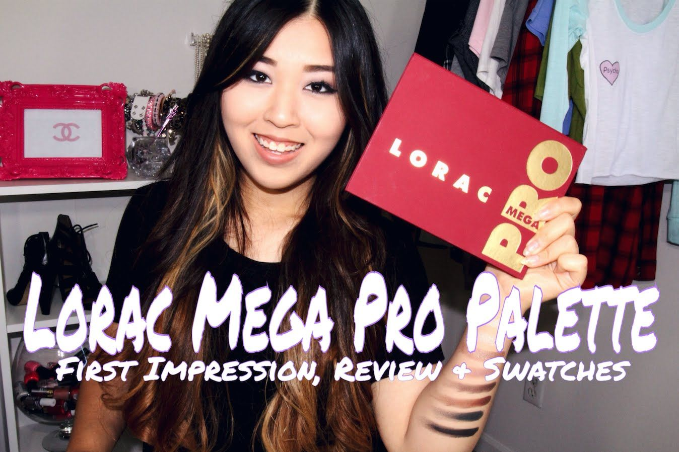 Lorac Mega Pro Palette | First Impression, Review & Swatches