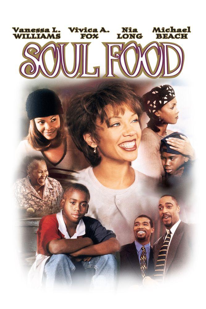 Soul Food Movie Poster Vanessa L Williams Vivica A Fox Nia