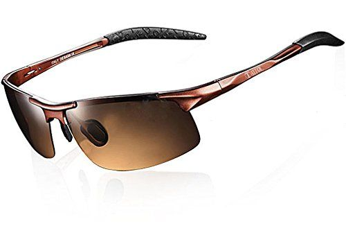 50339b6721 ATTCL 2015 New Fashion Driving Polarized Sunglasses for Men Unbreakable  metal Frame