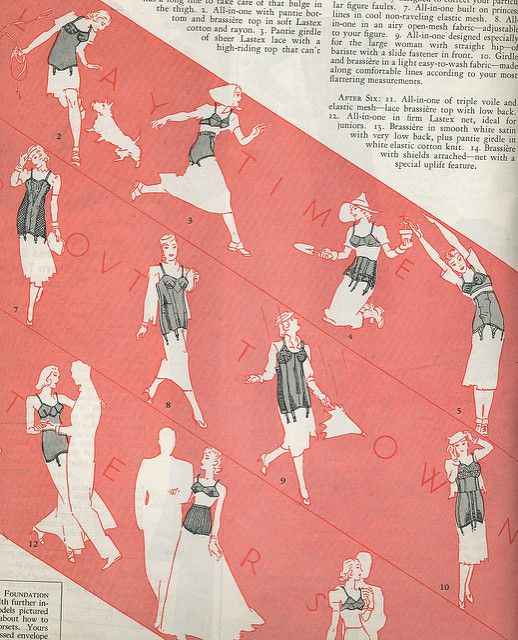 Which girdle you use under play time, out town, after six