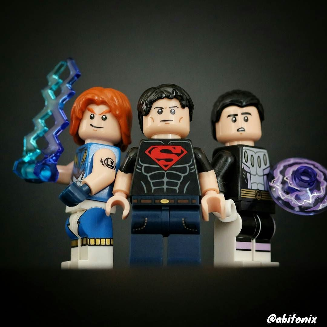Abraham Tonix On Instagram The Legion Of Superheroes Is Almost Complete But Where Is Saturn Girl Supe Lego Photography Saturn Girl Legion Of Superheroes