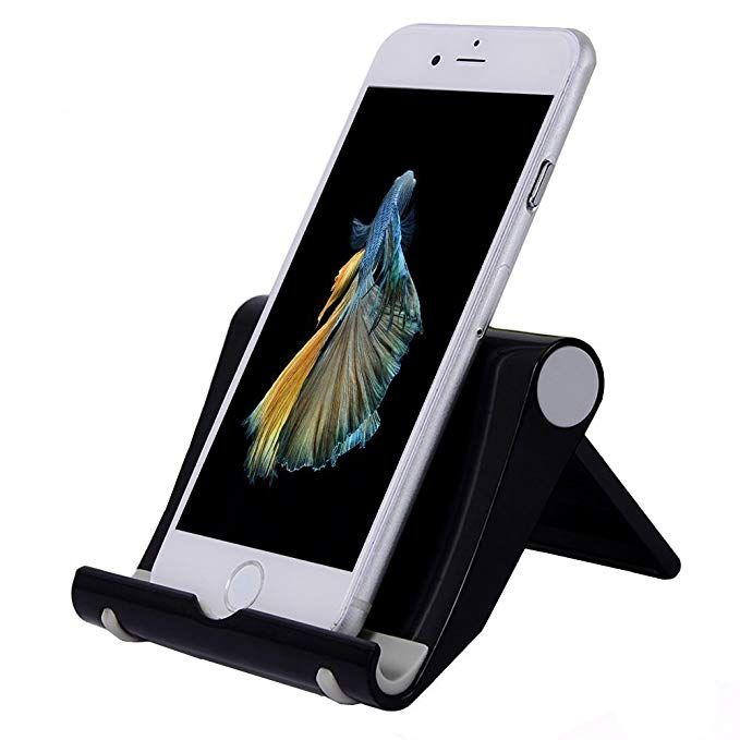 Phone Stand for Desk, LODOICEA Foldable MultiAngle Cell