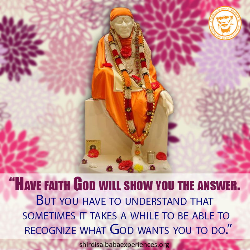 A Couple of Sai Baba Experiences - Part 237 - Devotees