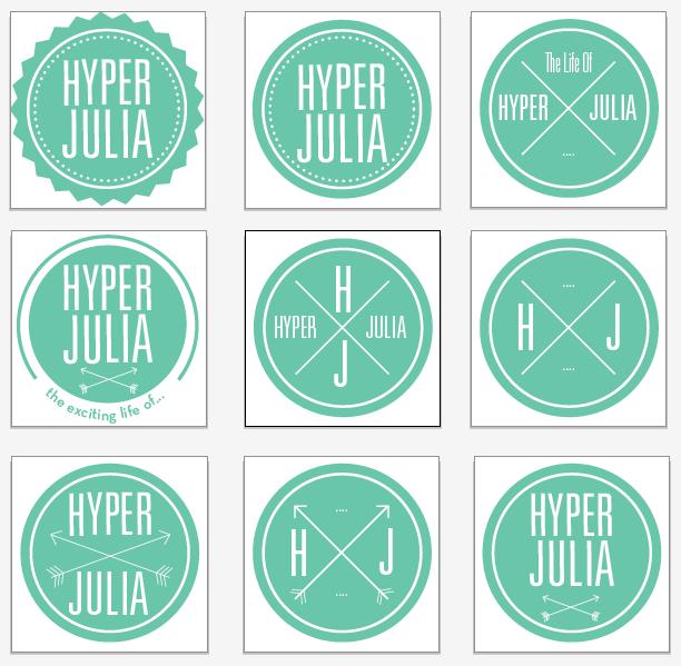 Blog logo sketches
