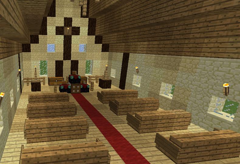 Rustic Medieval Church Minecraft Mansion Minecraft Designs Minecraft Projects