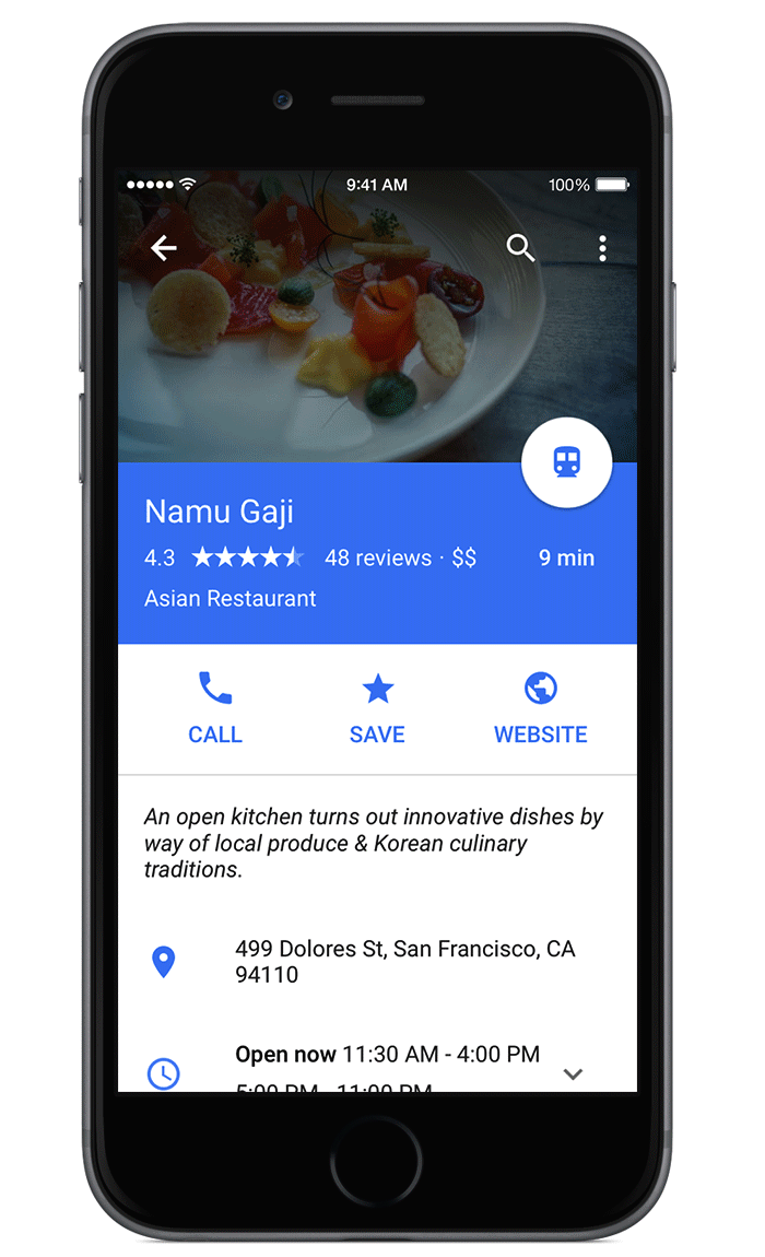 Google-Maps-for-iOS-OpenTable-reservations-Material-Design-001.png ...