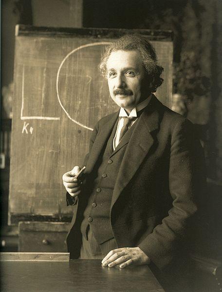 le génie Albert Einstein