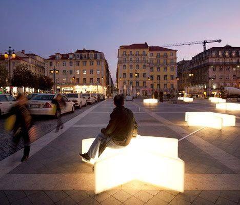 Beleuchtete stadtm bel city stories pinterest for Raumgestaltung architektur