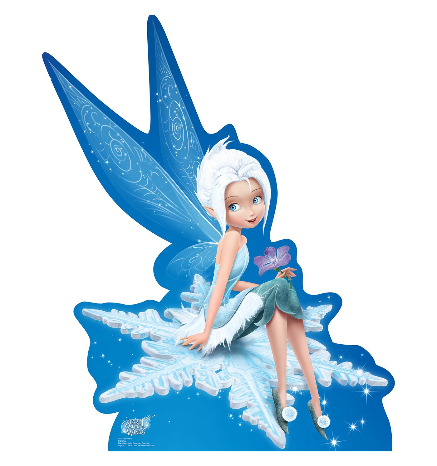 periwinkle secret of the wings cardboard cutouts from ag