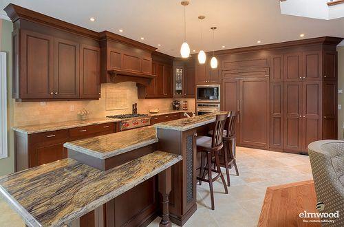 Multi Level Island Kitchen Inspiration Design Kitchen Design Trendy Kitchen