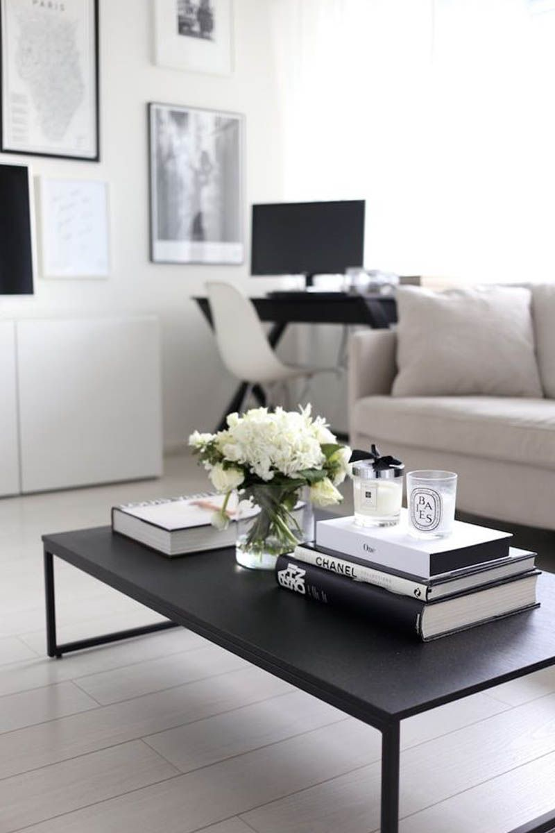 5 Tips to Make Your Home Pinterest Worthy Black coffee tables