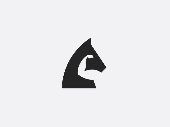 Horse Power By Julius Seniunas Logo Design Inspiration Minimal
