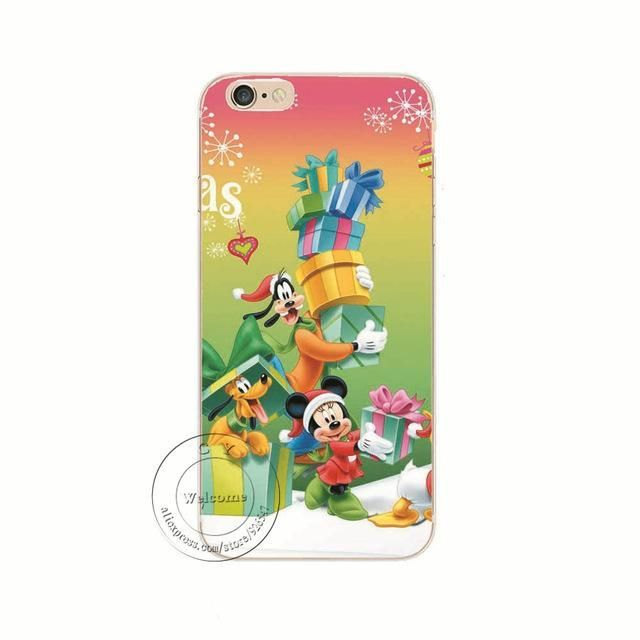 christmas themed hard phone cases for iphone x 8 plus 8 7