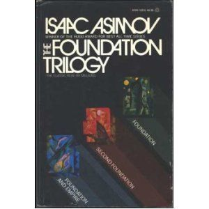 Isaac Azimov S Foundation Trilogy Is Set In The Far Future When Humanity S Descendents Have Formed A Galactic Empire The Fall Of The E Isaac Asimov Science Fiction Books Sci Fi Books