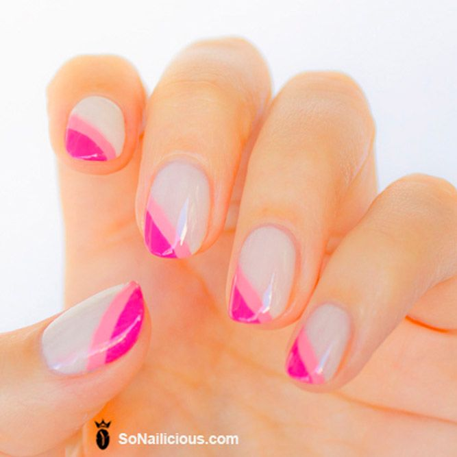 21 Artsy Lovely Nails Designs for a Modern Woman | Manicure, Gel ...