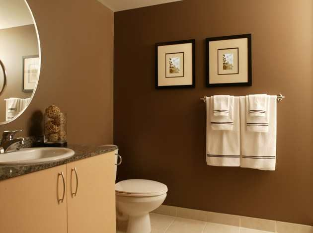 Remarkable Bathroom Color Ideas Blue And Brown On Bathroom With Photo 01 U2013  Bathroom With A