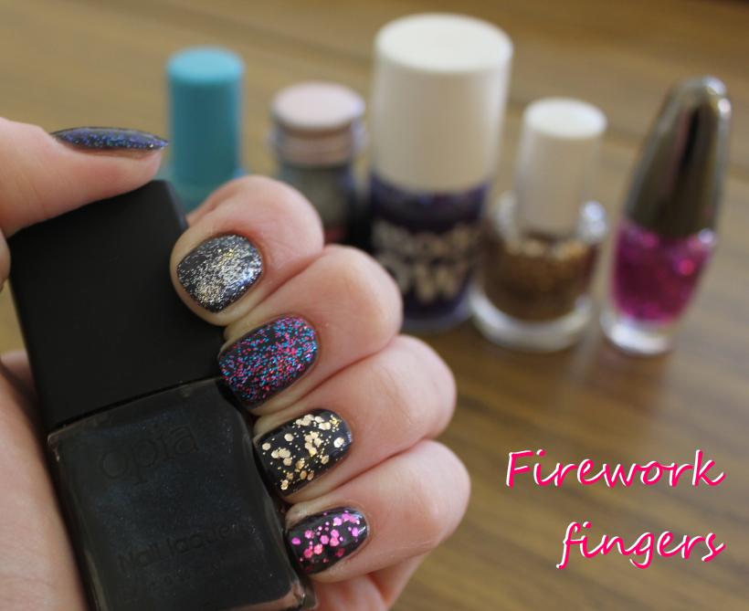 Firework nail polish varnish opia eyeko models own disco mix avon ...