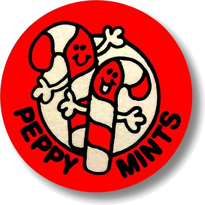 Vintage 80s Matte Trend Scratch /& Sniff Sticker Mint!! Strawberry
