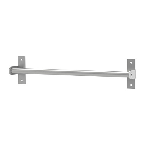 for craft supplies:  GRUNDTAL Rail IKEA Saves space on the worktop. Can also be used as a towel rail or a pot lid rack.