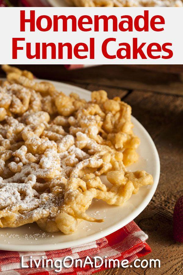Homemade Funnel Cakes Recipe Homemade Funnel Cakes Recipe Funnel Cake funnel cake quick recipe