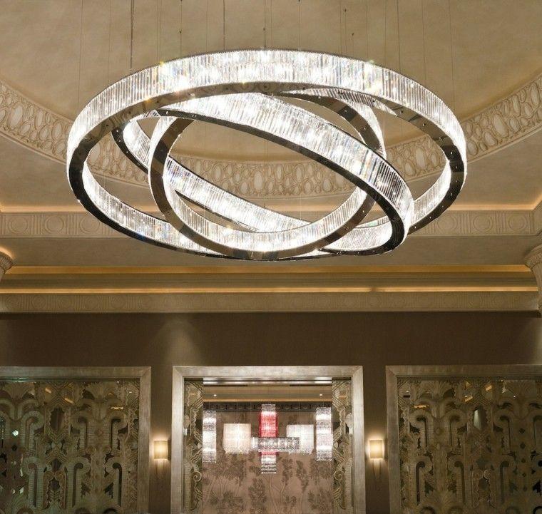 lámpara de techo muy grande y original Lámparas Pinterest - lamparas de techo modernas