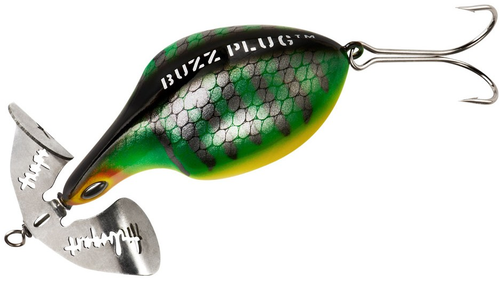 "Arbogast Buzz Plug 27/8"" G905 Perch Plug fishing"