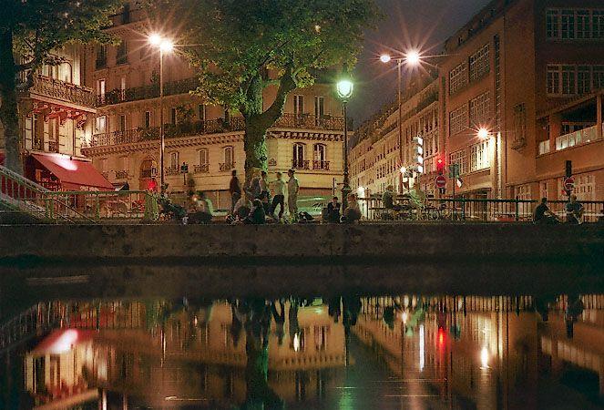 Quai de Valmy. Canal St Martin