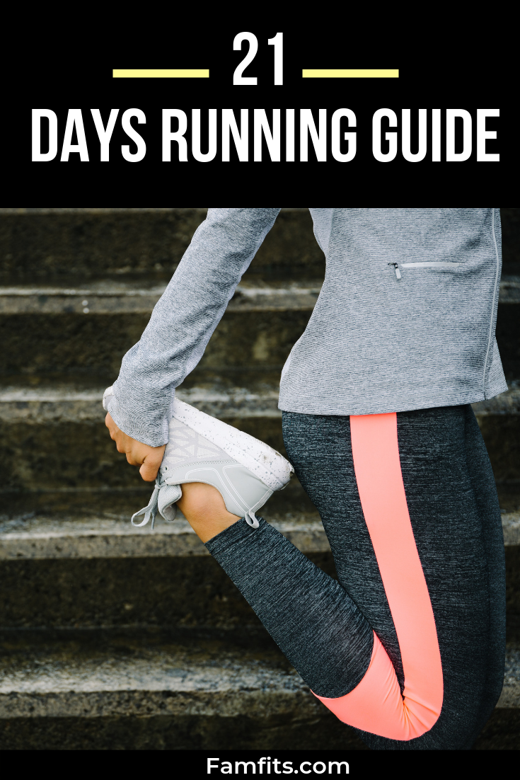 21 days running guide for beginners. Proper guide on running these guide will help you to lose weigh...