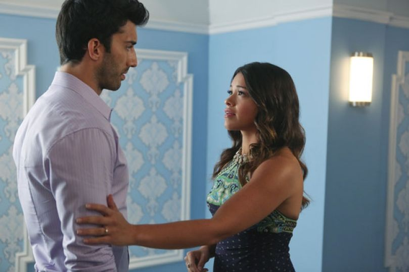 Jane & Rafael- Jane the Virgin! Love this show, its becoming one of my favorites!:)