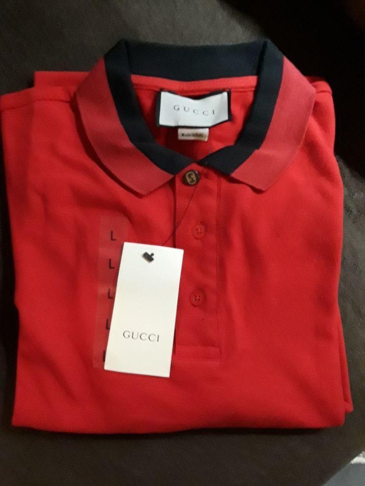 38d2a26536a Mens gucci polo shirt L  fashion  clothing  shoes  accessories  mensclothing   shirts (ebay link)