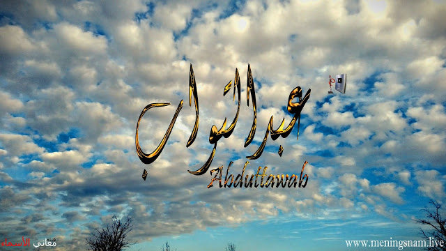 معنى اسم عبد التواب وصفات حامل هذا الاسم Abd Eltawab Dau Quadcopter