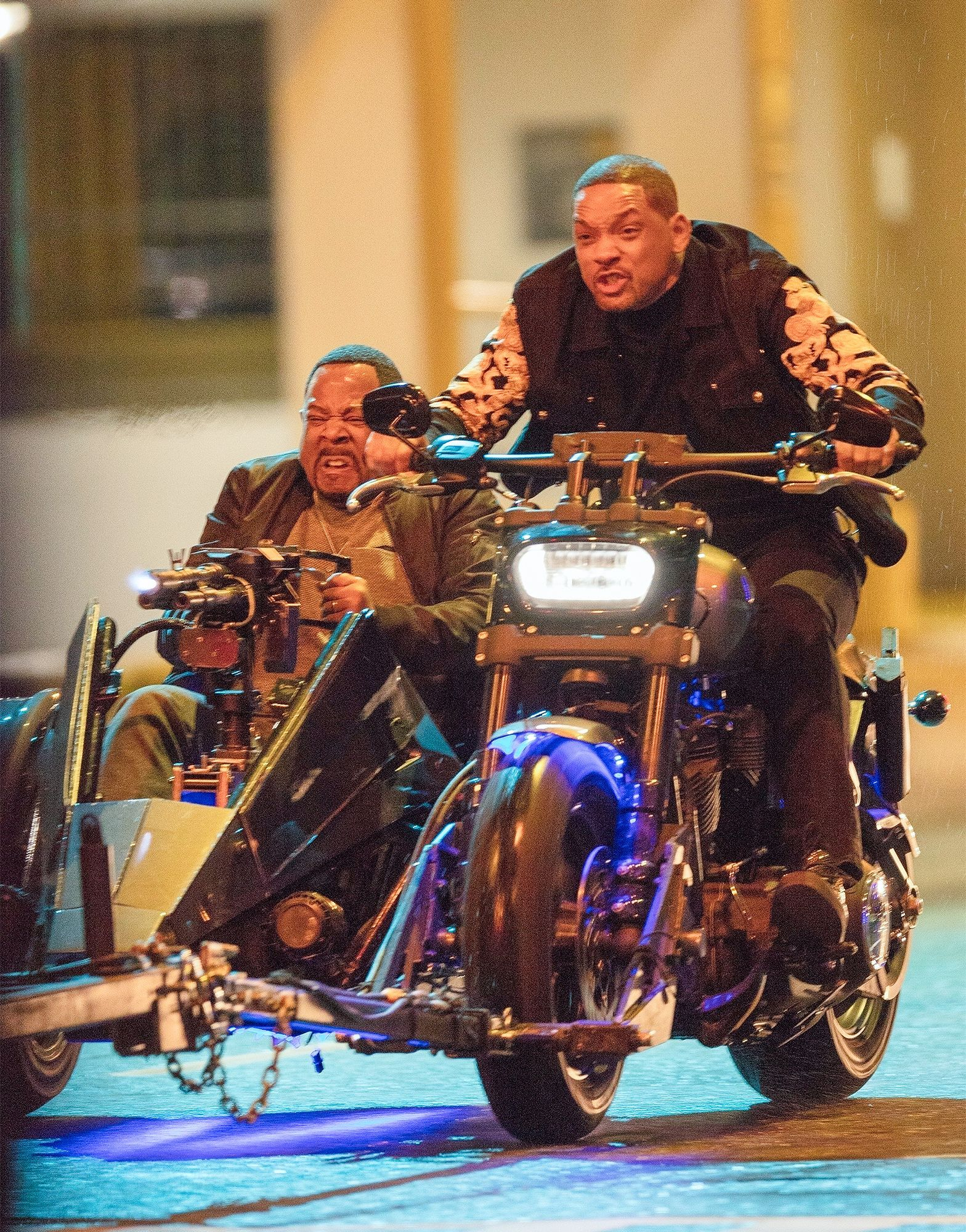 Will Smith And Martin Lawrence Are Back In Action And On Motorcycles In Em Bad Boys For Life Em Bad Boys Movie Best Friend Pictures Will Smith Bad Boys