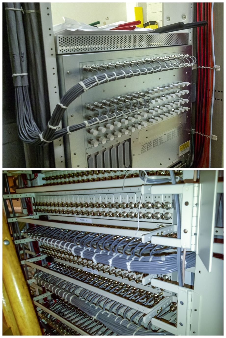 Cable Lacing Running Stitch Network organization