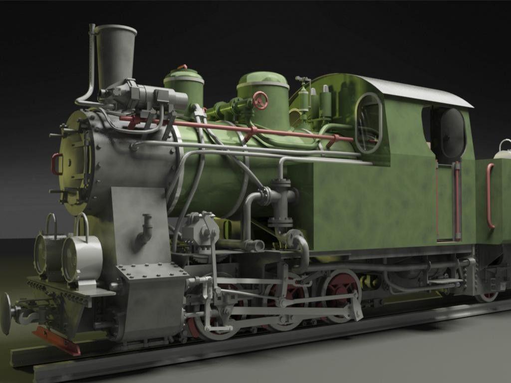 3ds polish steam locomotive | Другой транспорт | Pinterest