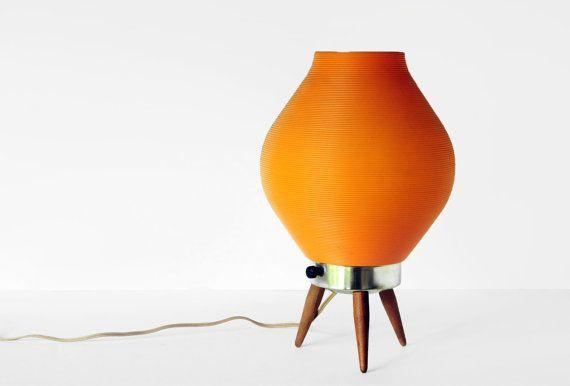 I Love These Little Guys Mid Century Modern Beehive Lamp 12