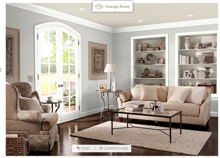 incredible behr paint living room | Behr color Dolphin Fin 790C-3 LOVE LOVE LOVE | Household ...