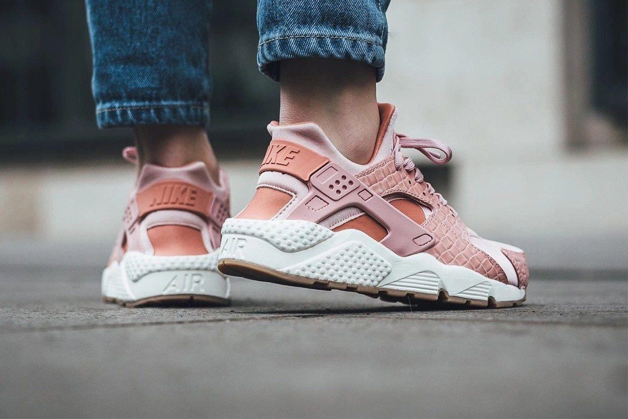 Nike Air Huarache 武士鞋推出 Pink Glaze 珊瑚粉色款式   運動鞋   Sneakers ...