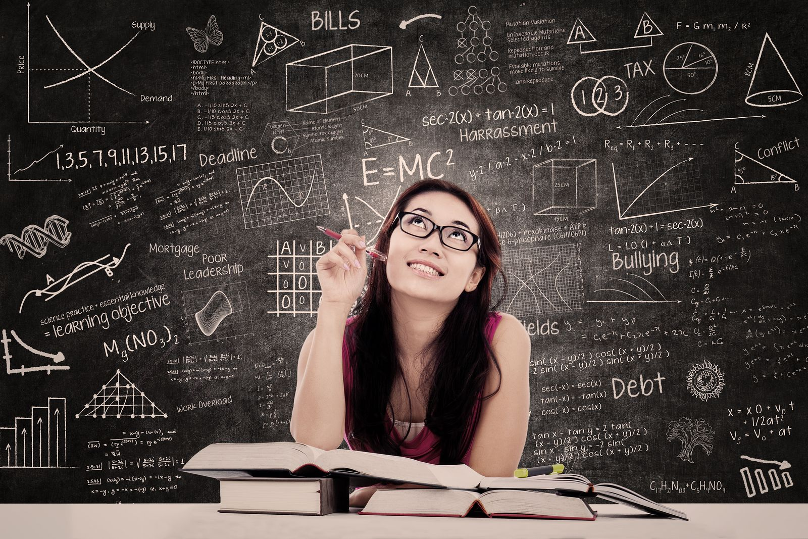 50 Thoughts Every College Freshman Has About Midterms