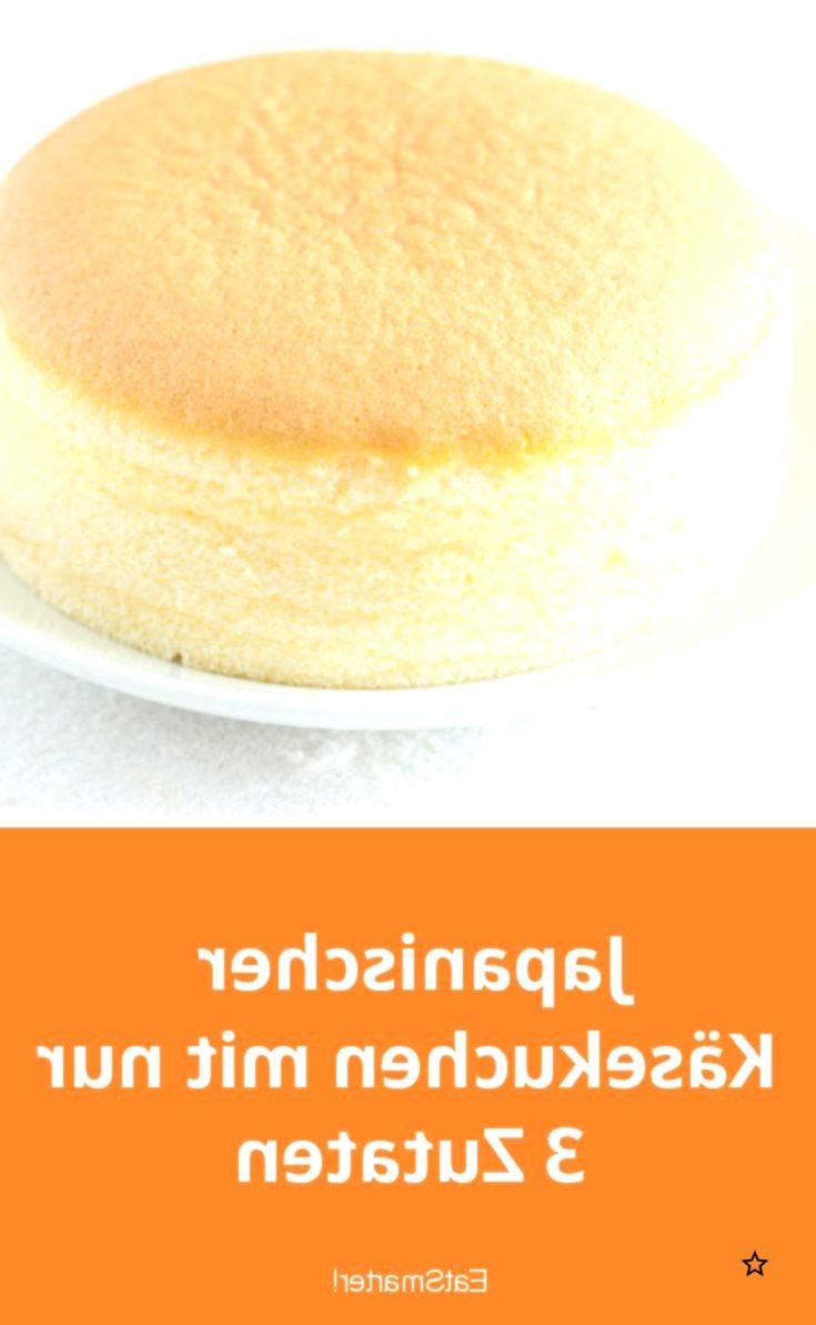 Japanischer Käsekuchen mit nur 3 Zutaten, #Japanischer #Käsekuchen #mit #nur #Zutaten #japanischerkäsekuchen
