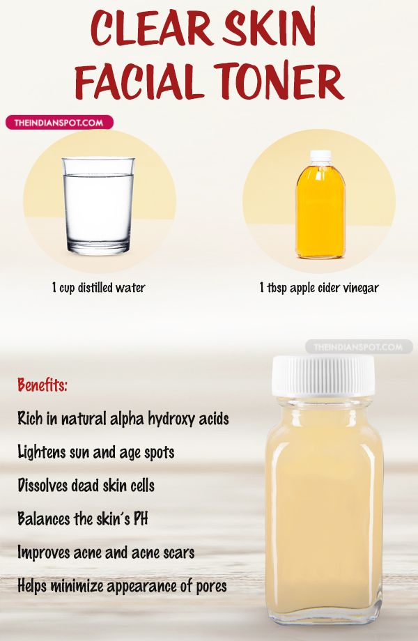 Use this homemade toner for smoother, brighter and