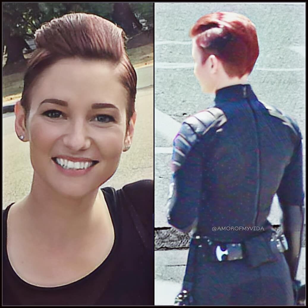 Alex New Look In Season 4 Sourc Alex Danvers Edgy Haircuts Short Hair Styles Pixie