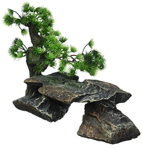 Take a Look:  Pen Plax Bonsai Tree on Rocks Style 1 Aquarium Decor