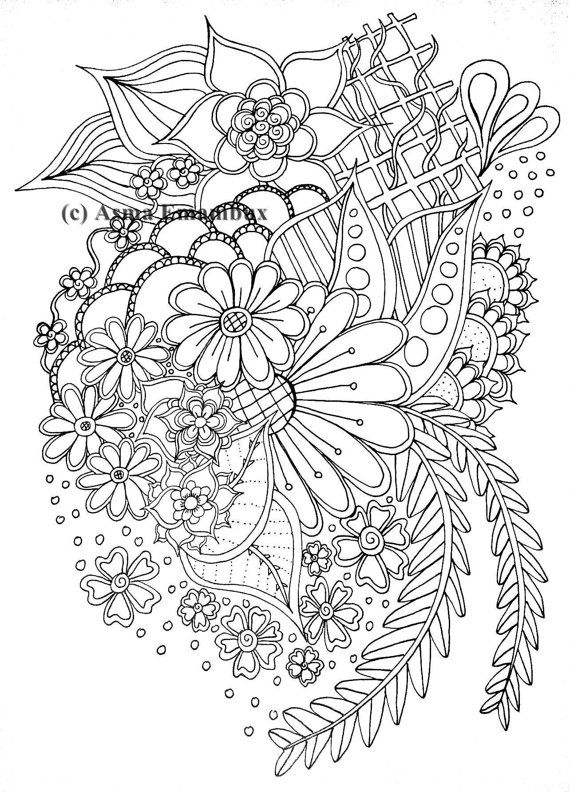 Pin On Flores Para Colorir