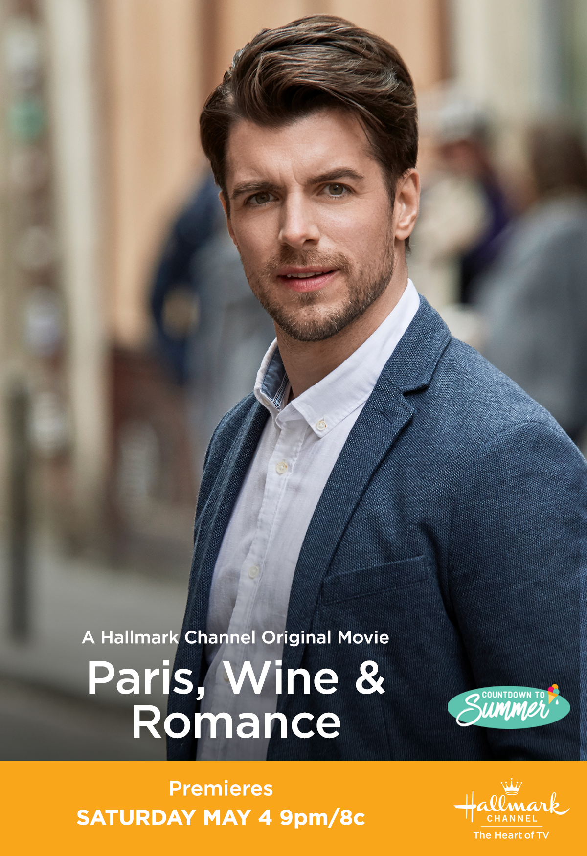 Jacques Dan Jeannotte Is Determined To Win The Annual Winemaking Competition But He Didn T Expect That His Riv Hallmark Channel Wine Romance Hallmark Movies