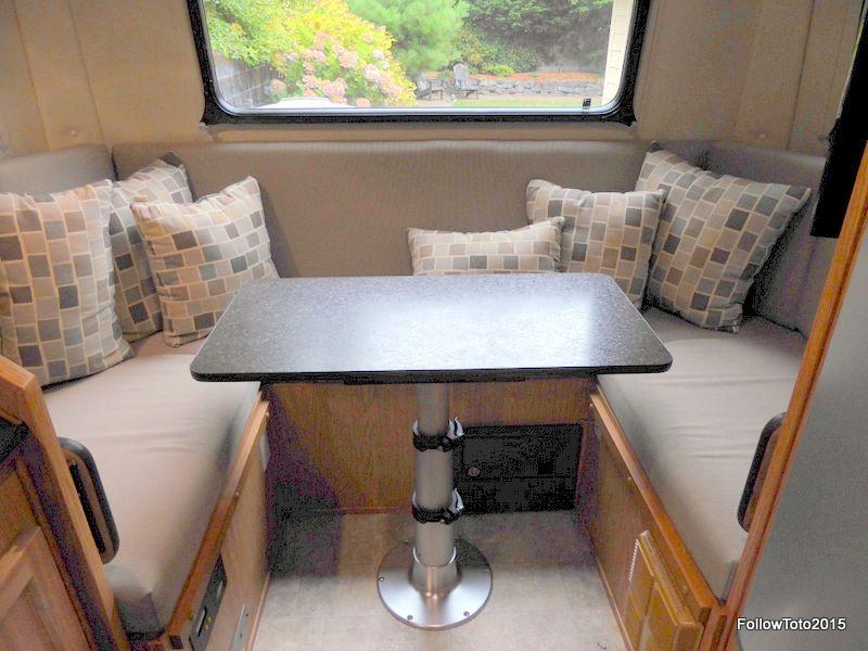 42 Remodeling Ideas Dinette Cushions Trailer Dinette Dinette Tables Remodel