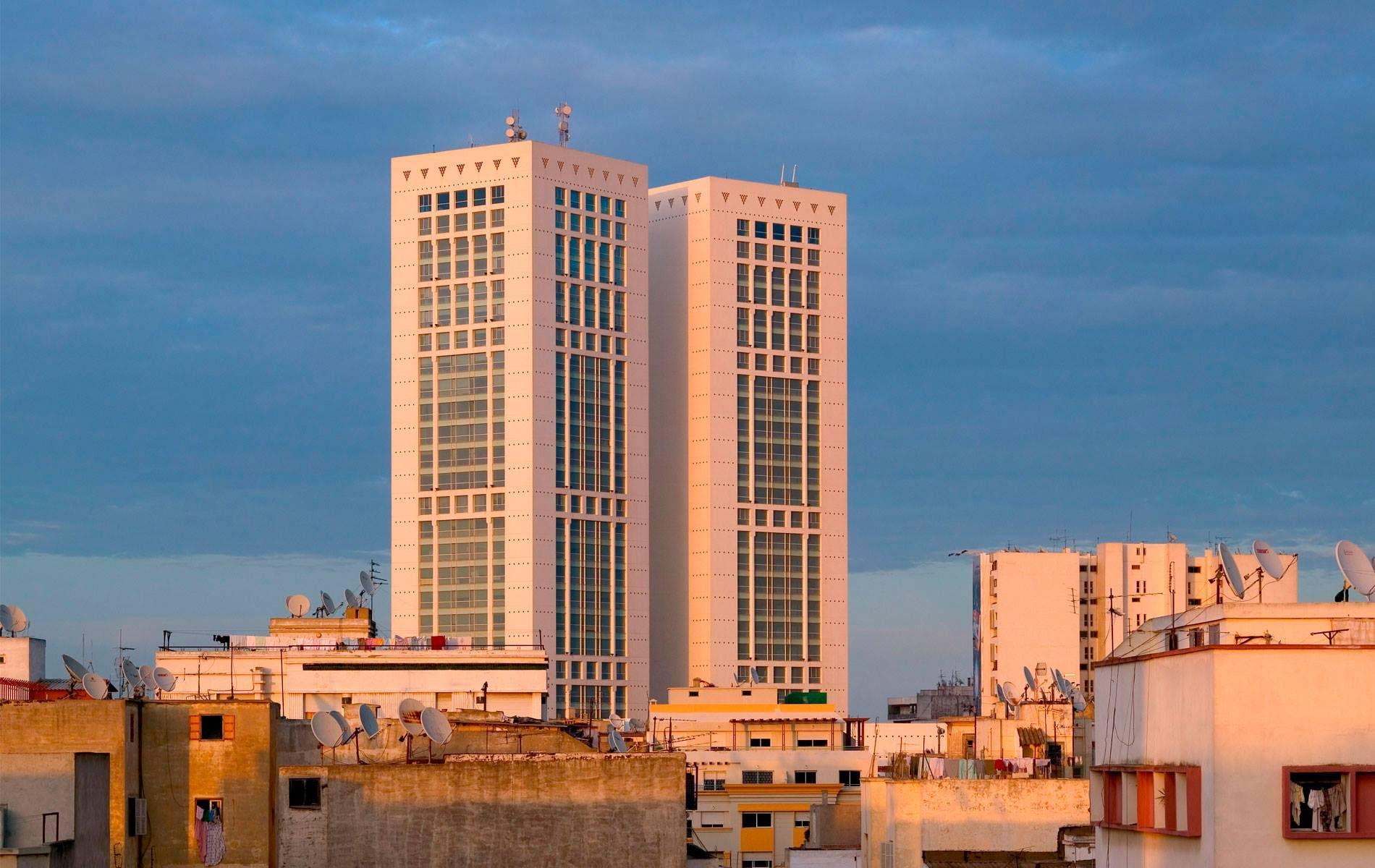 Le Twin Center Oujda Maroc Interieurs Marocains