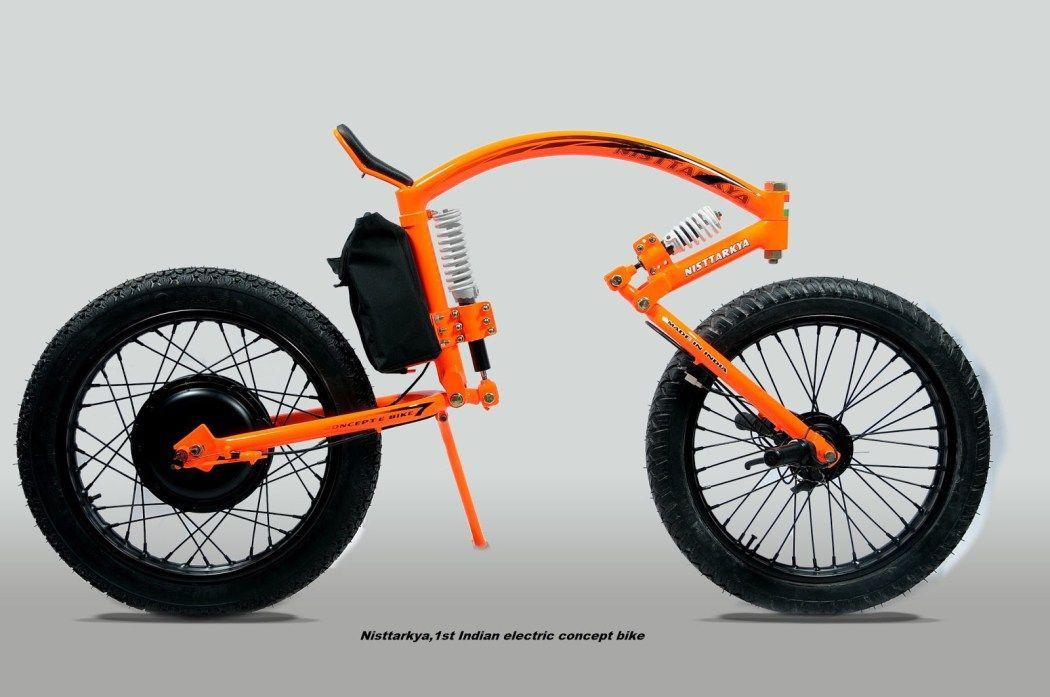 Man From Mysore India Creates Prototype Design Power Bike