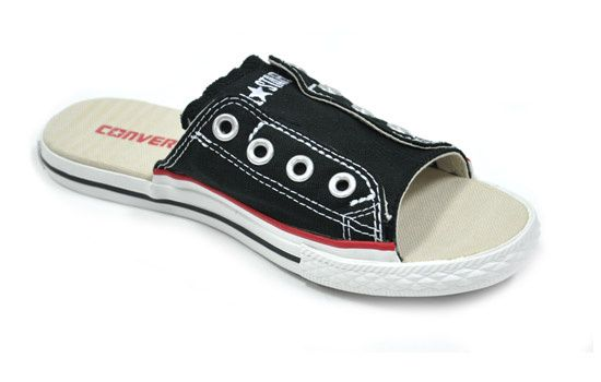 sports shoes b9ba0 adf2a ... australia converse all star cut away sandals bef37 0bd71